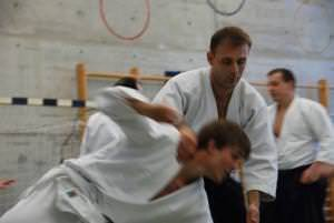 Aikido-Stage in Urdorf-ZH, Iriminage-Technik