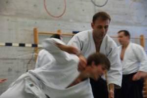 Aikido-Stage in Urdorf-ZH, Iriminage-Technik