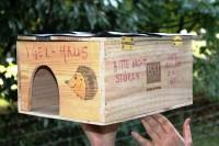 Igelhaus selber bauen