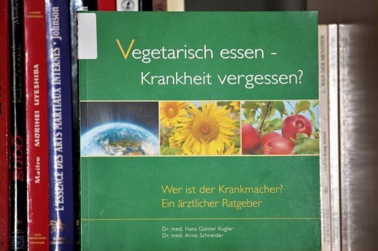 Vegetarisch essen - Krankheit vergessen?